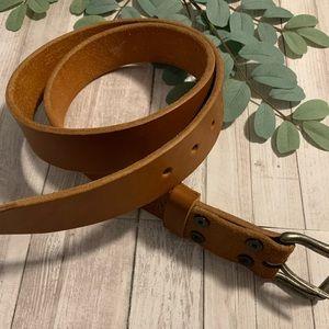 """K & H 38"""" leather belt men's"""